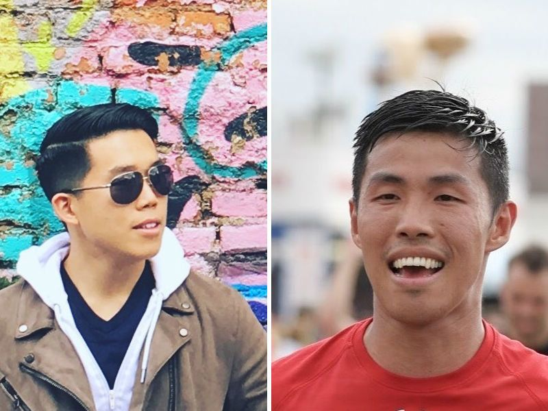 Phillip Cheng, left, and Kai Ng, right, share many similarities as Chinese-American immigrants, but grew up in contrasti