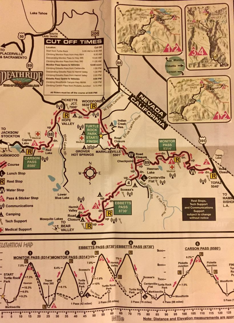 Cycling & Sipping in South Lake Tahoe - the Death Ride 'Tour
