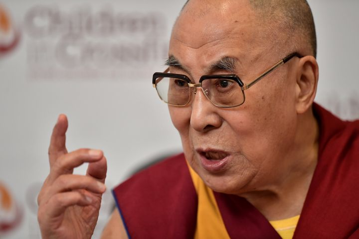 """Buddha [would have] definitely helped those poor Muslims,"" the Tibetan spiritual leader said."