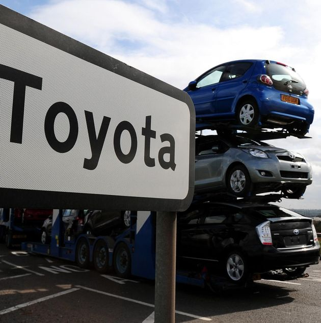 Toyota Warns Brexit Jitters Mean It Could Move Jobs Out Of