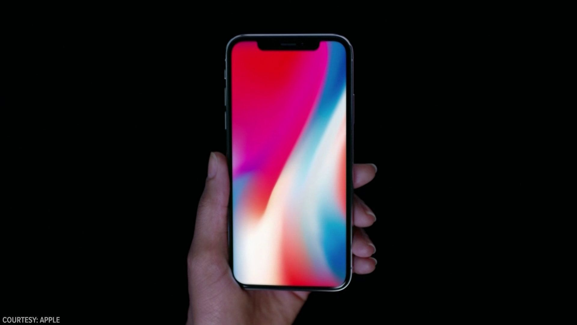 Apple has officially unveiled its iPhone X