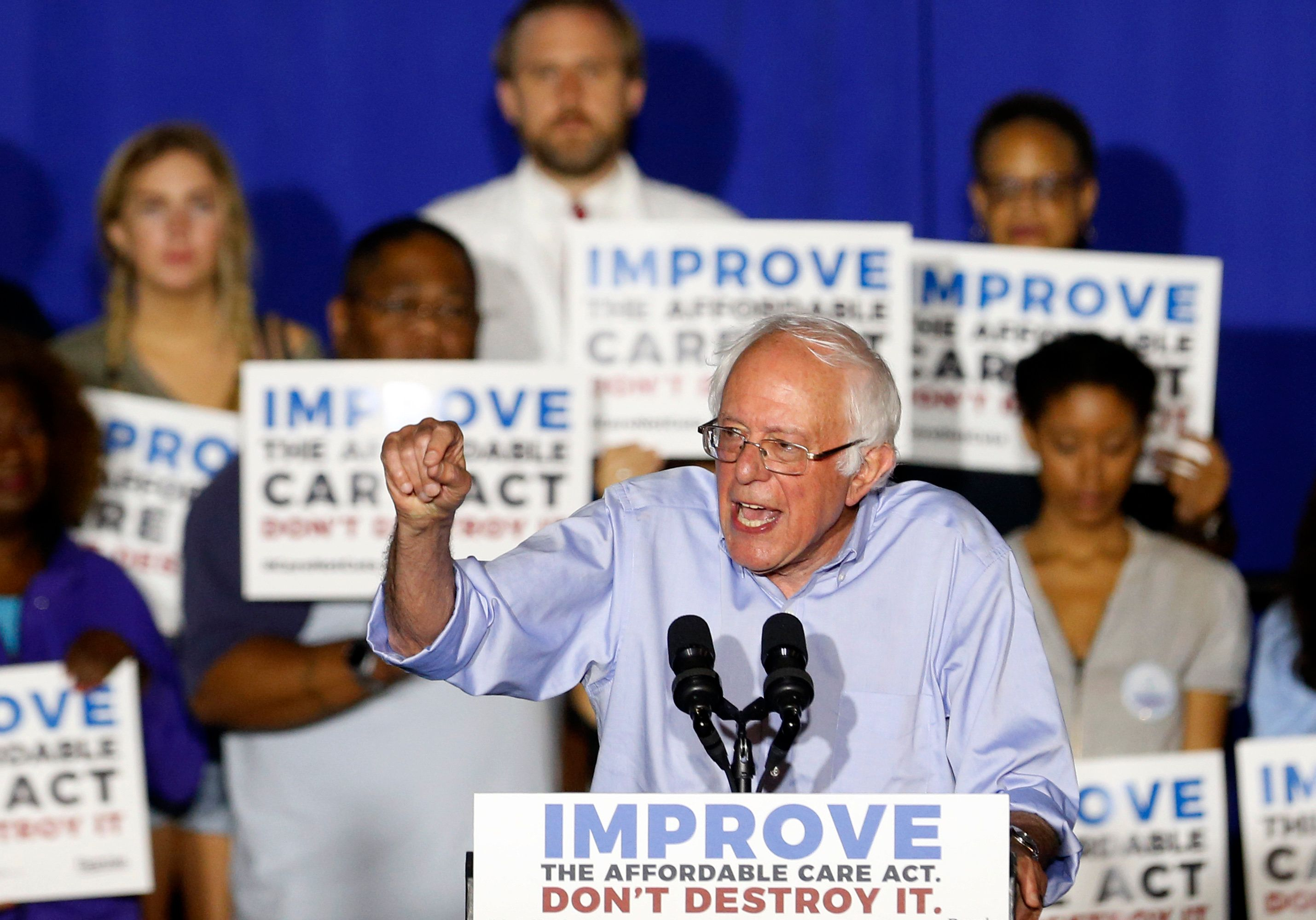 Sen. Bernie Sanders (I-Vt.), who hit the road over the summer to defend the Affordable Care Act, is set to introduce legislat