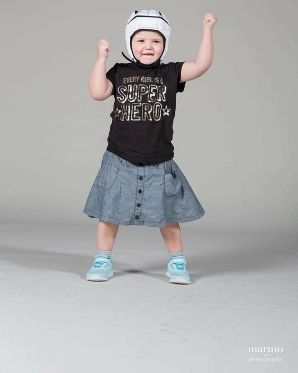 """""""Sally was diagnosed with a rare form of infant leukemia in 2013 at 11 months of age. She endured two years of intense treatm"""