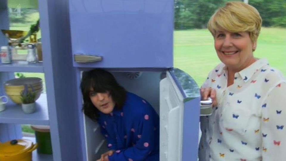 'Bake Off' hosts Noel Fielding and Sandi Toksvig gag didn't go down well with