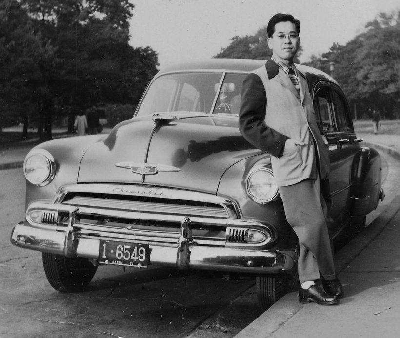 Ray Mayeda, circa 1950