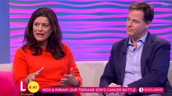 Nick Clegg And Miriam González Durántez Reveal Teenage Son's Battle With