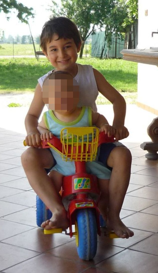 The couple's son Lorenzo, 11, was killed in the