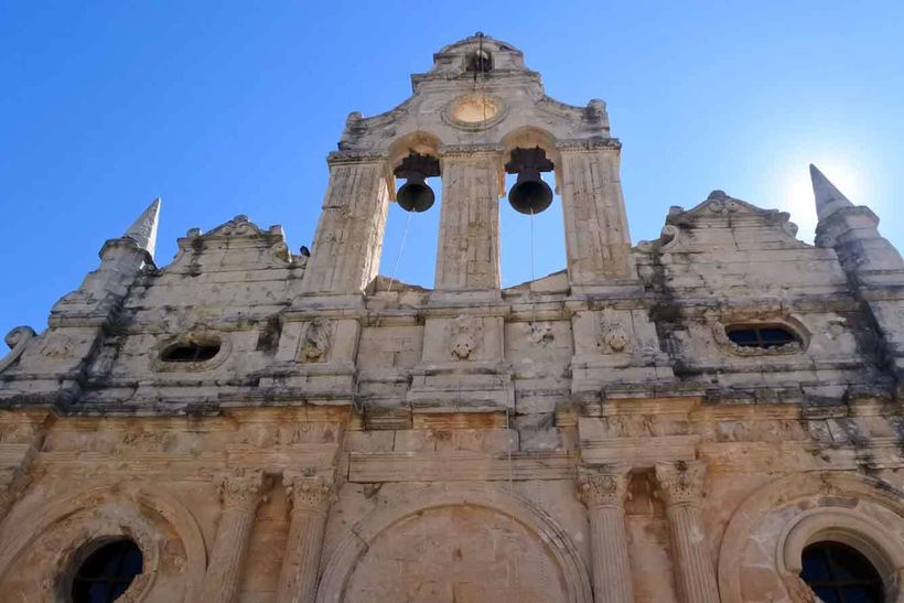 The Venetian baroque church  at the Arkadi Monastery is a gem in its own right.