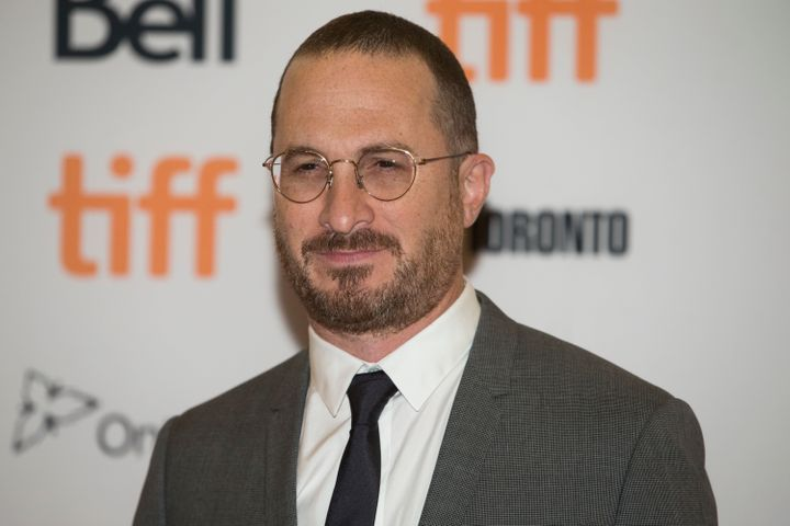"Darren Aronofsky arrives at the Torono Film Festival premiere of ""mother!"" on Sept. 10."