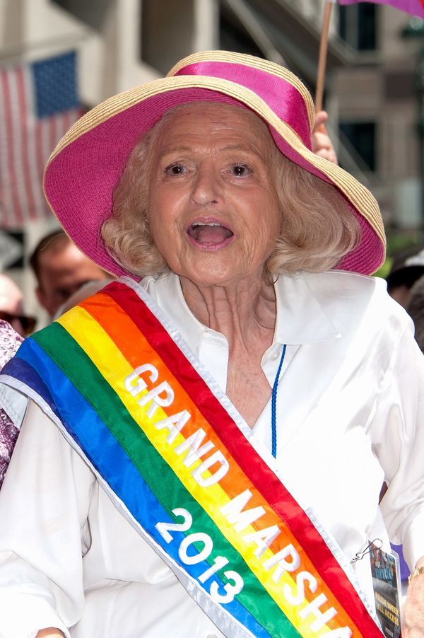 At the New York City Pride Parade on June 30, 2013.