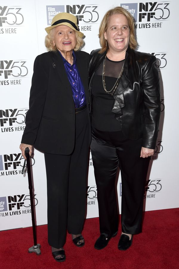"With Roberta A. Kaplan at the premiere of ""Carol"" in New York City on Oct. 9, 2015."
