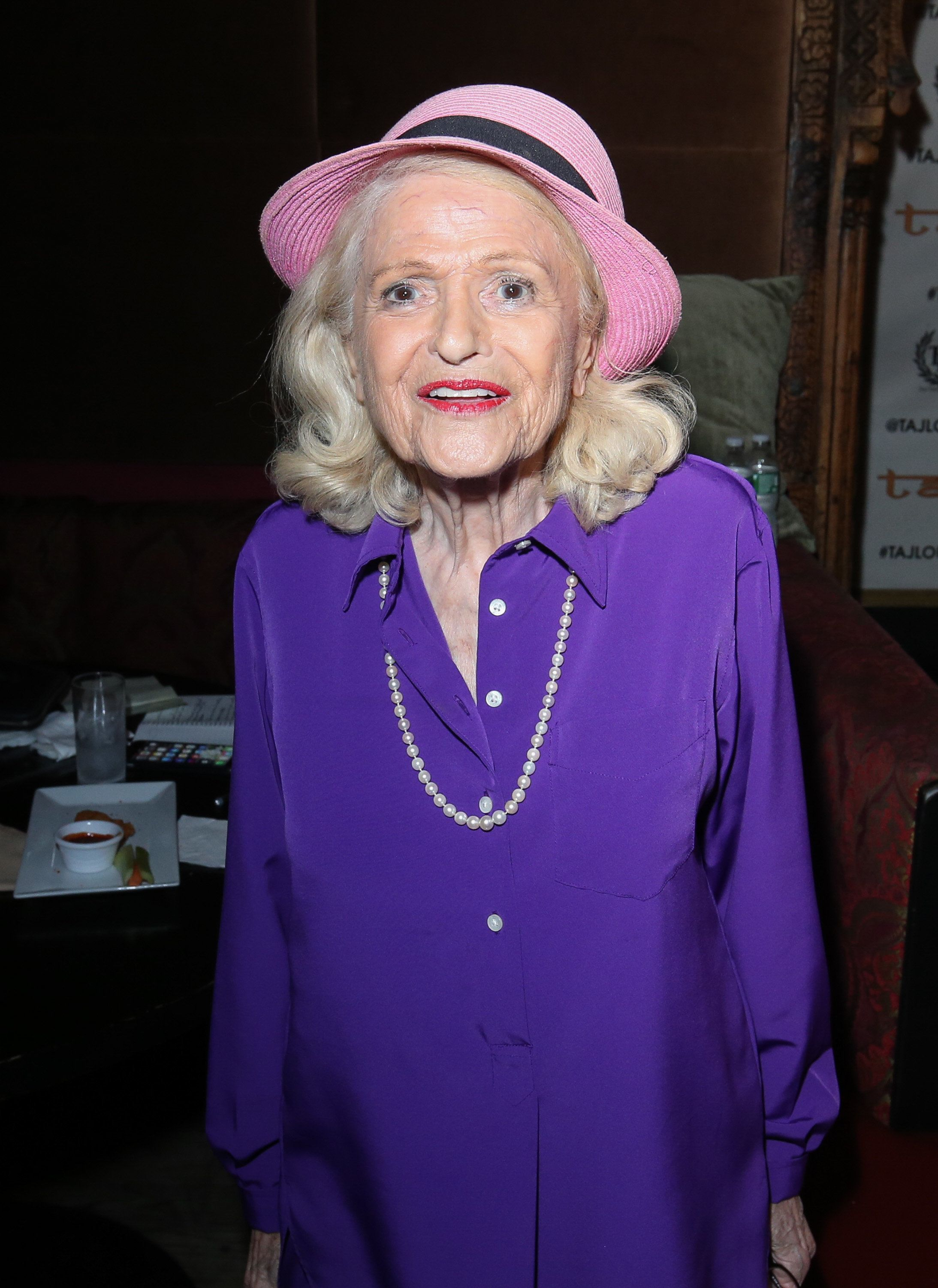 NEW YORK, NY - JUNE 23:  Edith 'Edie' Windsor attends the women-focused event: Moxie! at Taj II during NYC Pride 2017 on June 23, 2017 in New York City.  (Photo by Rob Kim/Getty Images)