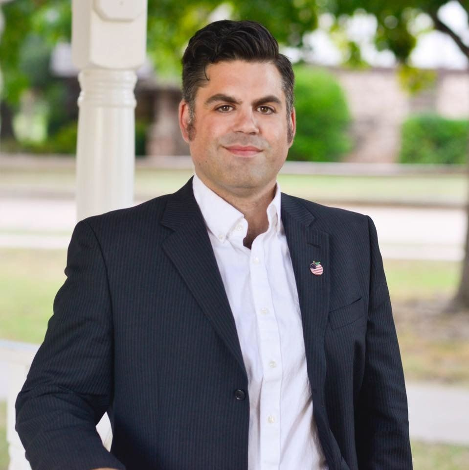 Jacob Rosecrants, a schoolteacher from Norman, Oklahoma, was elected to represent District 46 in Oklahoma's House of Represen