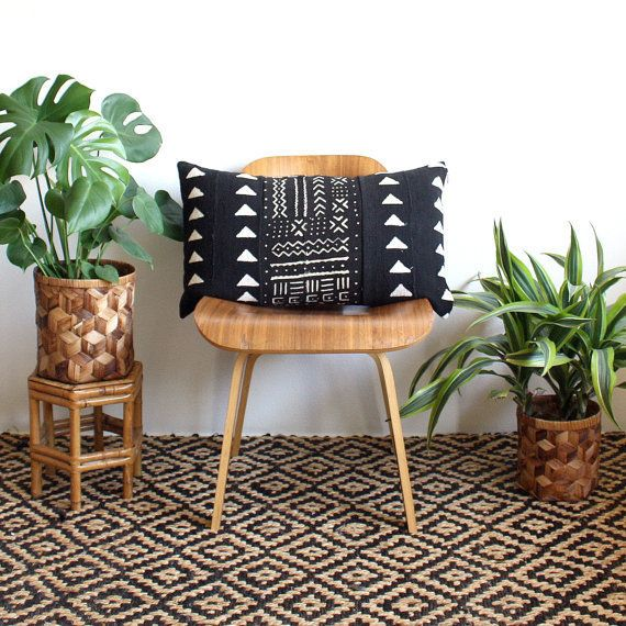 22 Ways To Decorate With Mud Cloth The Trendy Textile