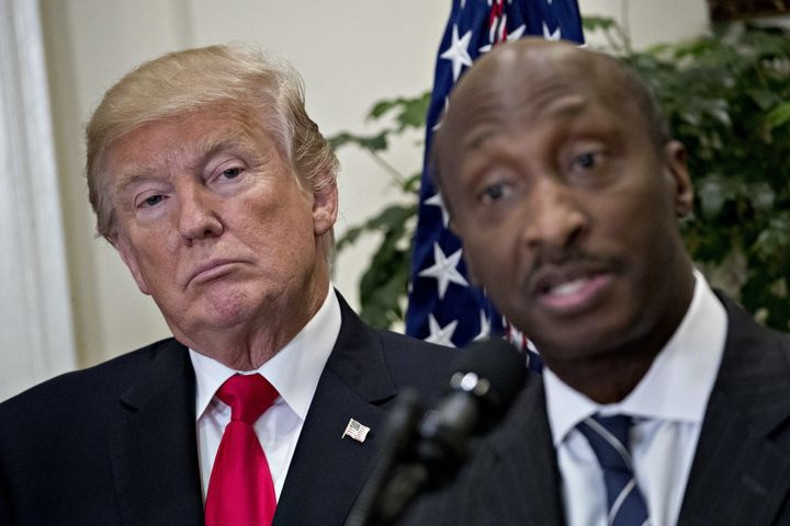 Merck & Co. CEO Kenneth Frazier was the first corporate chieftain to resign from a White House advisory council in protes
