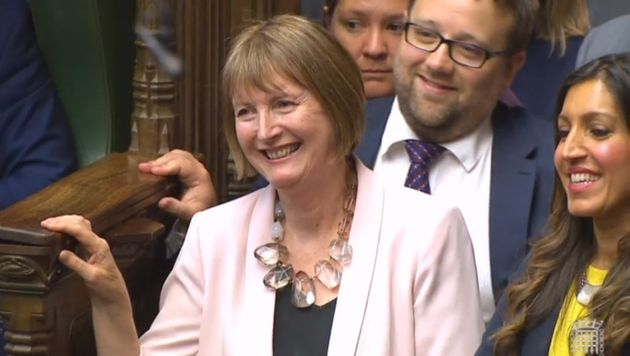 Harriet Harman says both male and female MPs should benefit from proper parental