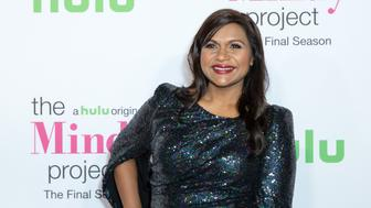 WEST HOLLYWOOD, CA - SEPTEMBER 12:  Actress Mindy Kaling arrives for Hulu's 'The Mindy Project' Final Season Premiere Party at The London West Hollywood on September 12, 2017 in West Hollywood, California.  (Photo by Greg Doherty/Patrick McMullan via Getty Images)