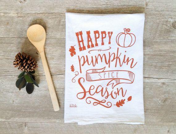 "Get it <a href=""https://www.etsy.com/listing/243896295/pumpkin-spice-tea-towel-autumn-kitchen"" target=""_blank""><strong>here</"