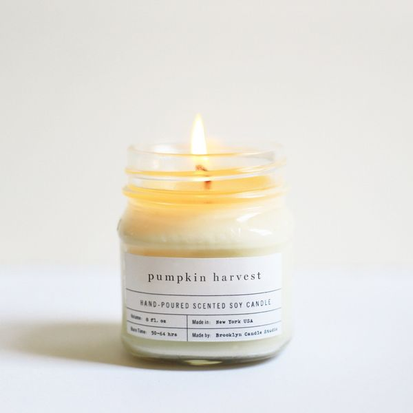 "Get it <a href=""https://brooklyncandlestudio.com/products/pumpkin-macaron-mason-jar-candle"" target=""_blank""><strong>here</str"