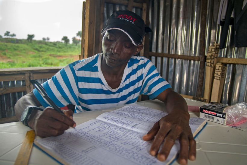 Amadu Turay was the manager of Waterloo cemeteryduring the Ebola outbreak of 2014-15. At the time, the cemeteryone of two b