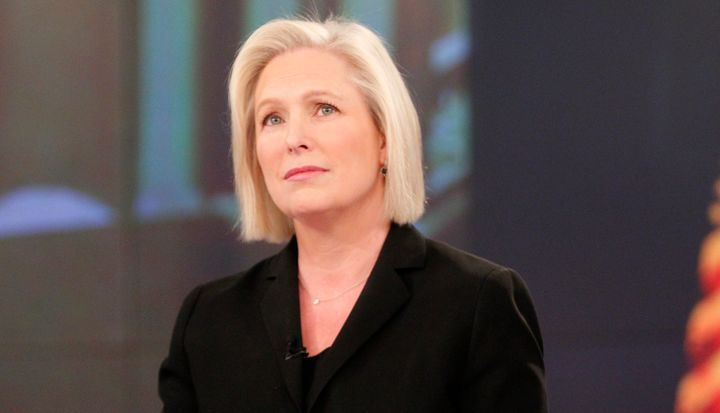 "Senator Kirsten Gillibrand is the guest, Monday, May 8, 2017 on ABC's ""The View."""
