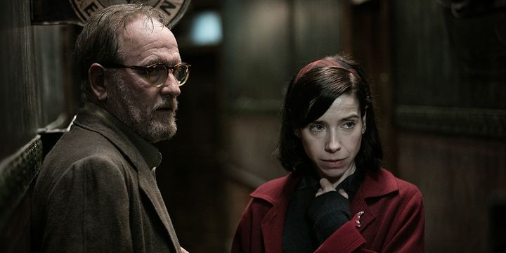 "Richard Jenkins and Sally Hawkins star in ""The Shape of Water."""