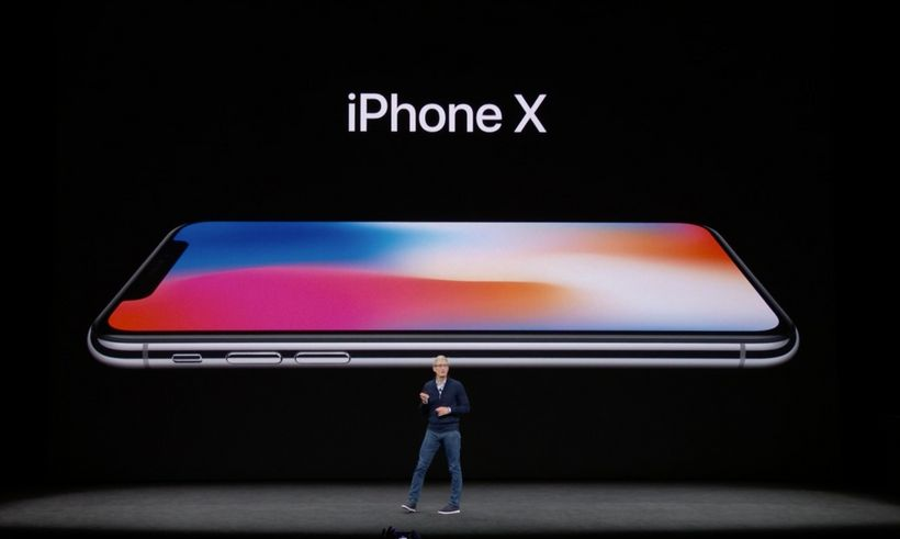 """Apple CEO Tim Cook calls the iPhone X """"the future of the smartphone"""" on September 12, 2017."""