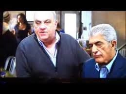 Frank Vincent, right, with Vincent Curatola. Aka Phil Leotardo with Johnny Sack.