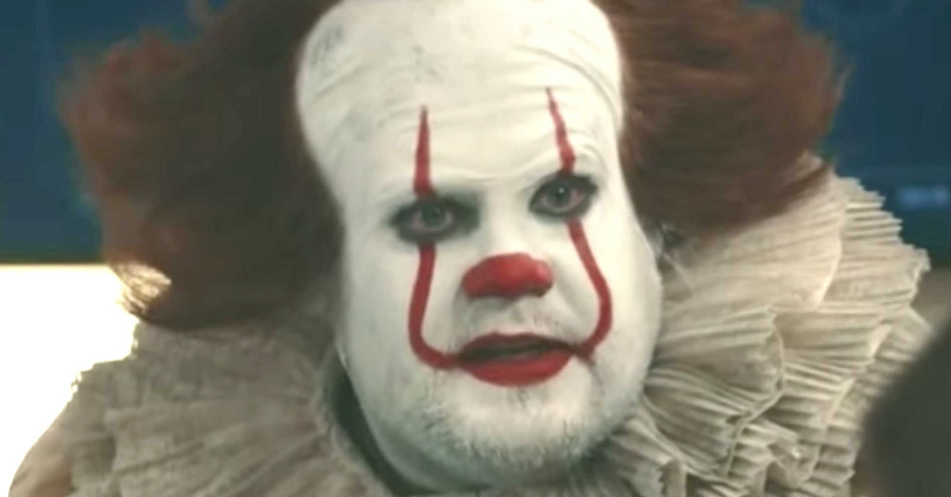 James Corden As Pennywise The 'It' Clown Will Scare The ...