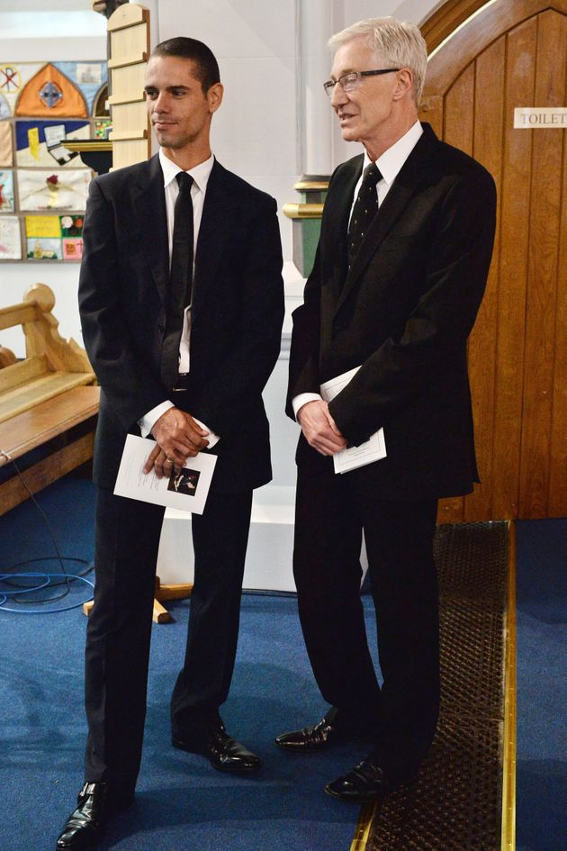 Paul O'Grady and Andre Portasio married last