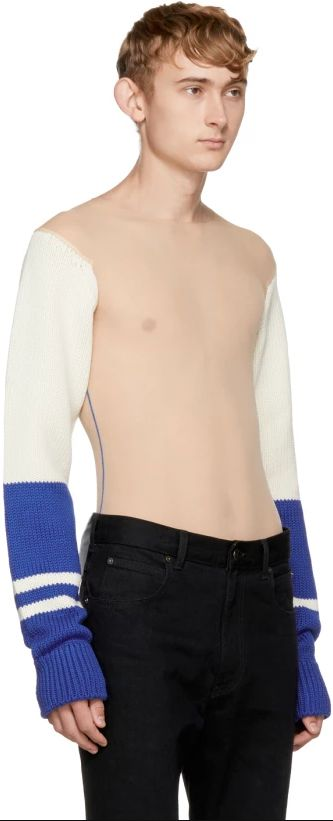 This Calvin Klein Jumper Is Winter's Answer To The Nearly-Naked