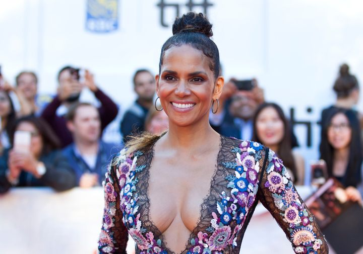 """Actress Halle Berry attends the world premiere of """"Kings"""" during the 2017 Toronto International Film Festival on Sept. 13, 2017."""