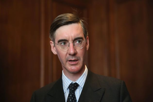 Jacob Rees-Mogg said the rise in foodbanks was 'rather