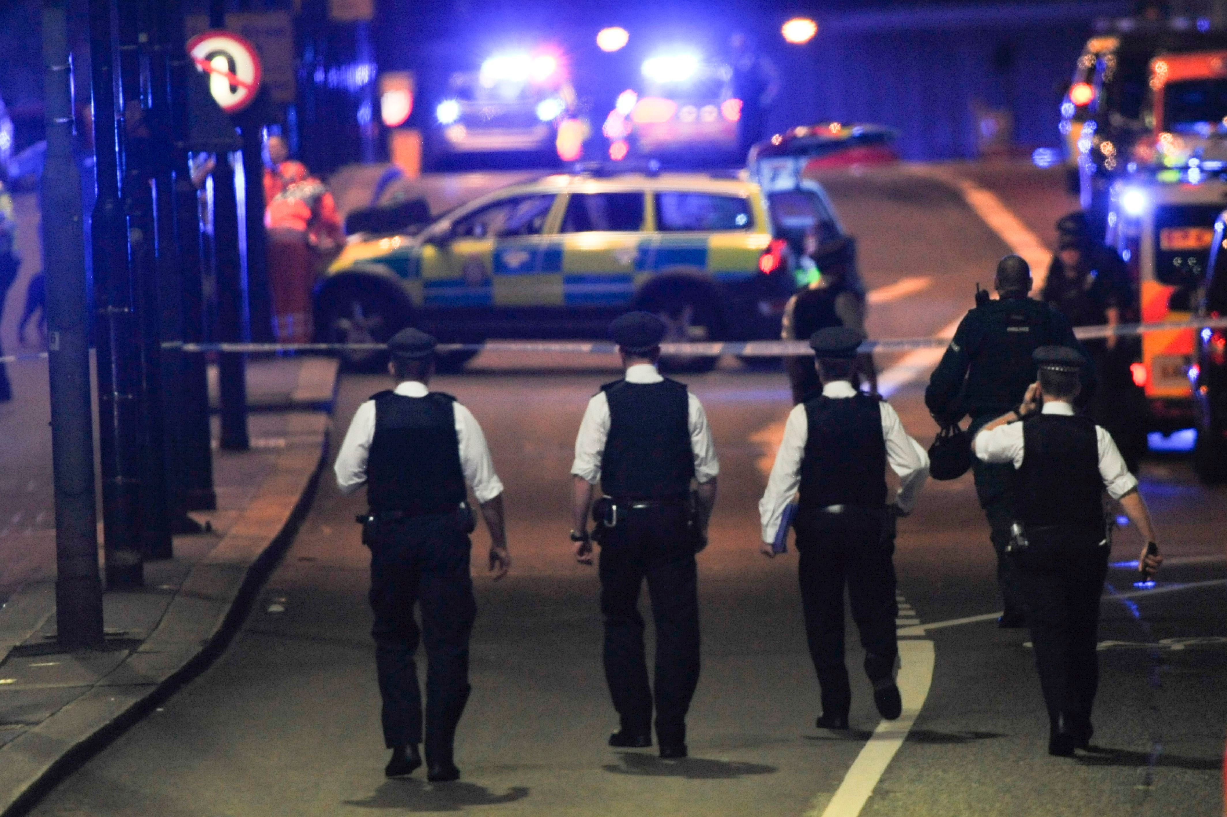 DANIEL SORABJI via Getty Images Terror-related arrests have surged in Britain following major attacks in London and Manchester