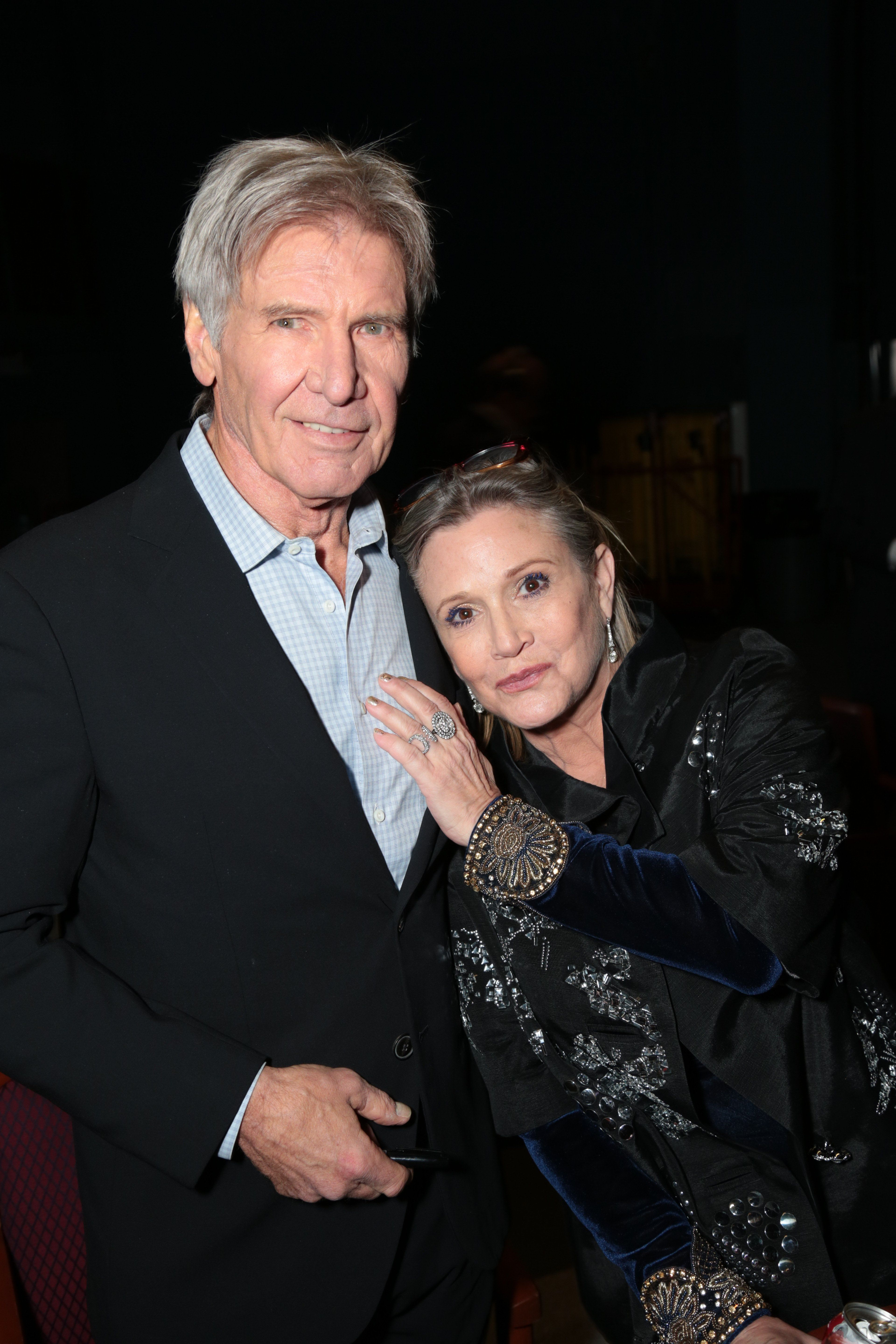 Harrison Ford Finally Reacts To Carrie Fisher's Affair