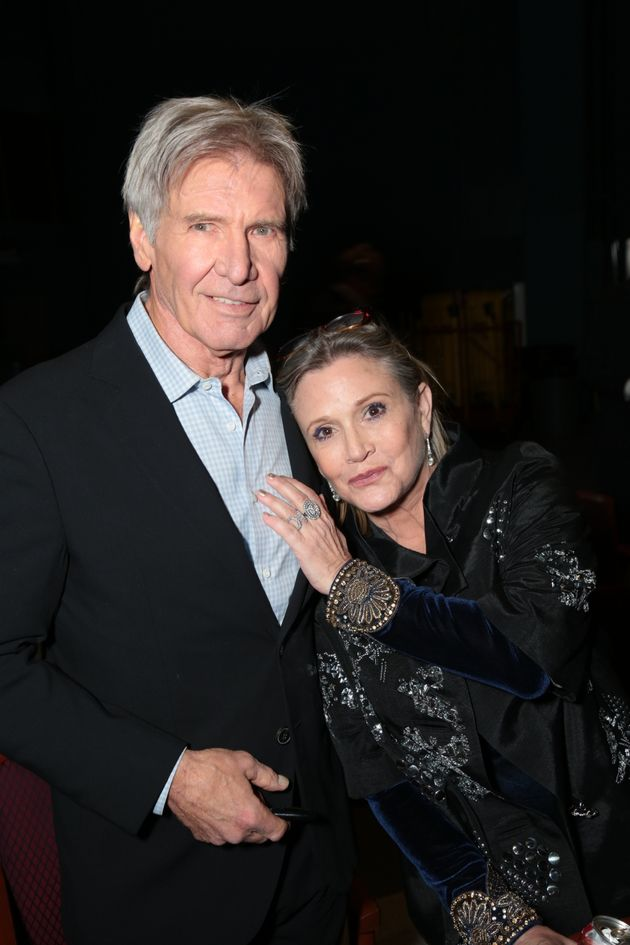 Harrison and Carrie in