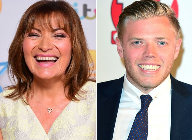 Lorraine Kelly and Rob