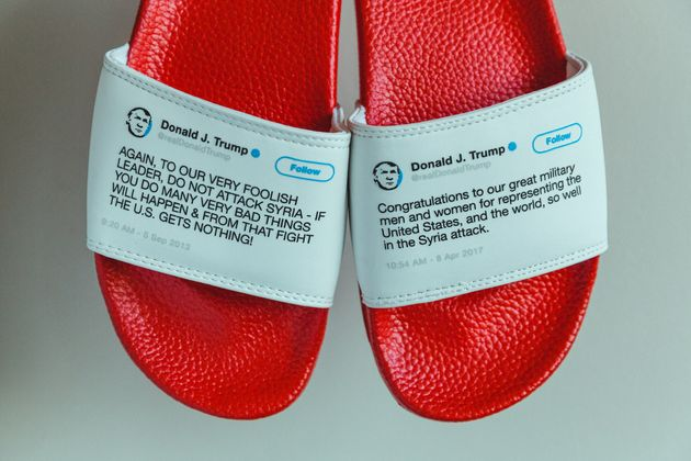 President Flip Flops Allow You To Wear Some Of Trump's Greatest Contradictions On Your