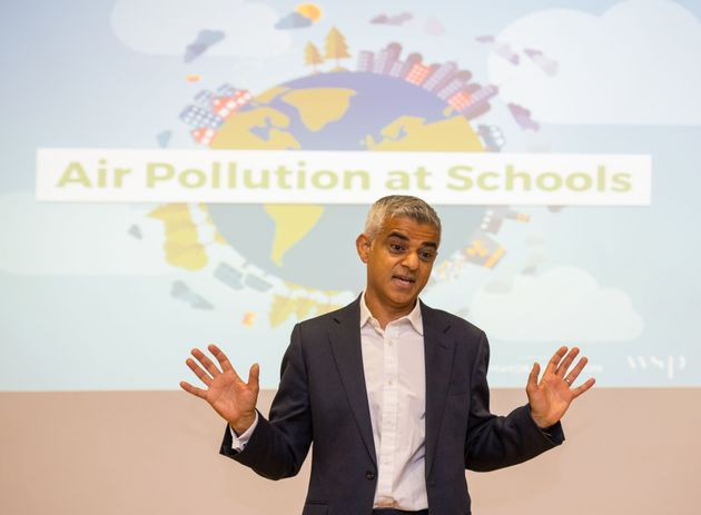 Sadiq Khan Wants Broadcasters To Provide Pollution Forecasts To Help Tackle Toxic