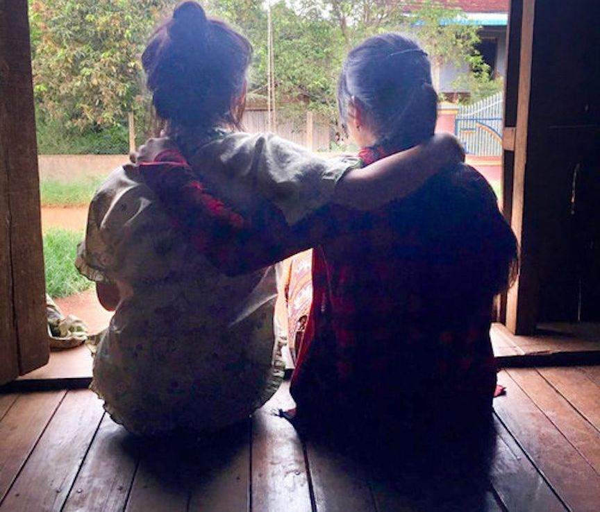 Mona* and her sister managed to get out of China, but their troubles aren't over back home in Cambodia.