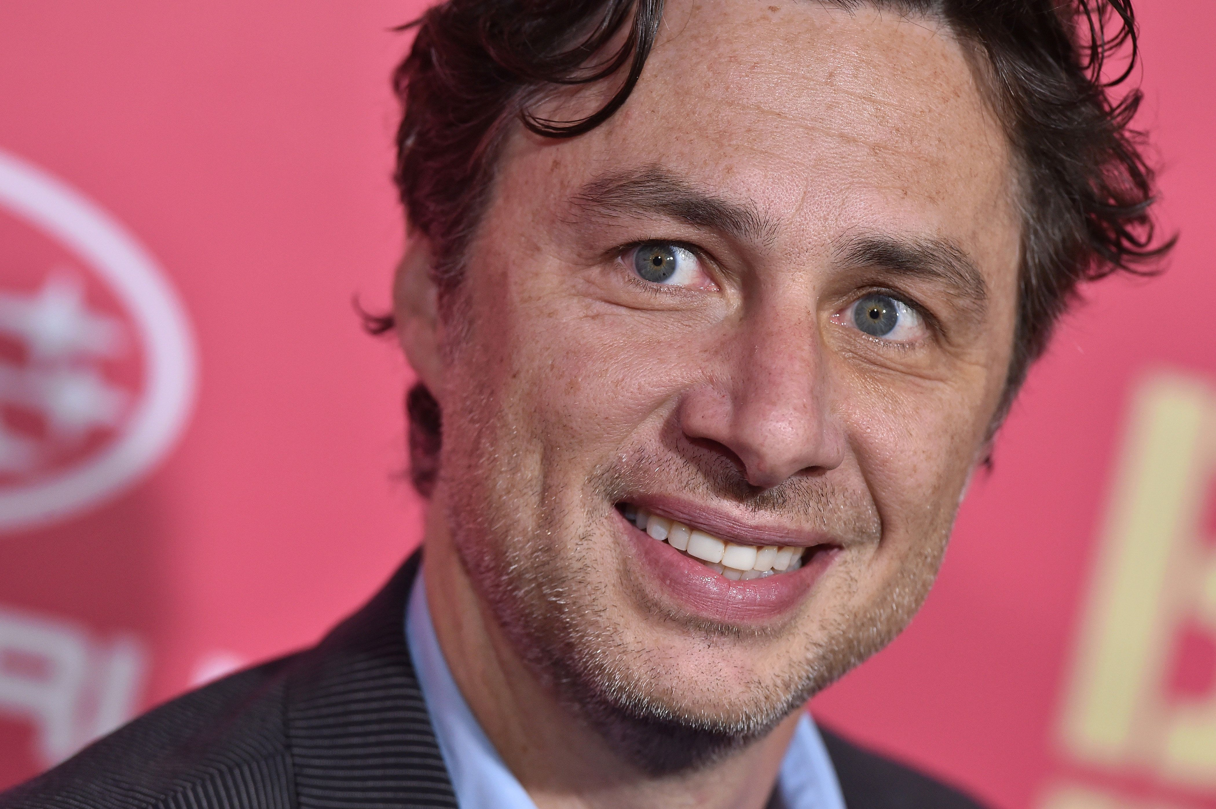 Zach Braff Discovers He's Advertising Erection Pills In Russia