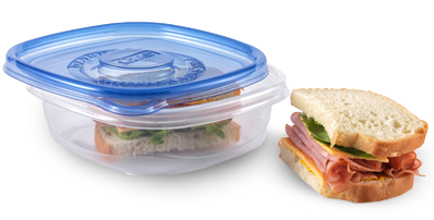 "Glad Entreé container, <a href=""https://www.amazon.com/Glad-Food-Storage-Containers-Container/dp/B0014D0SWW?tag=t"