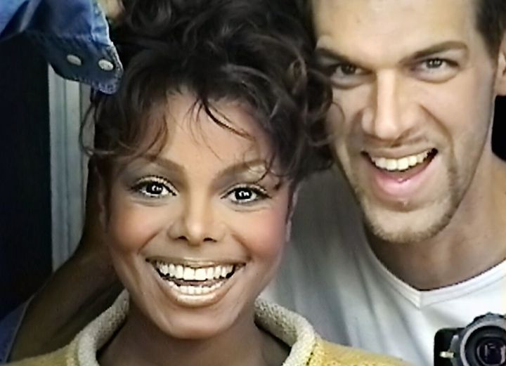 Janet Jackson and Kevyn Aucion.