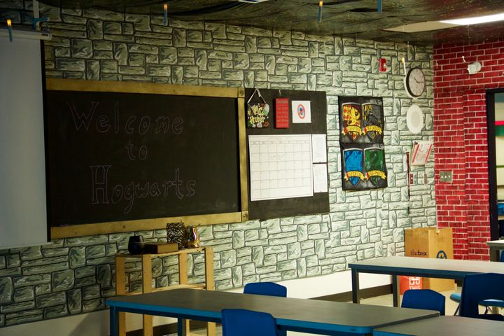 harry potter classroom