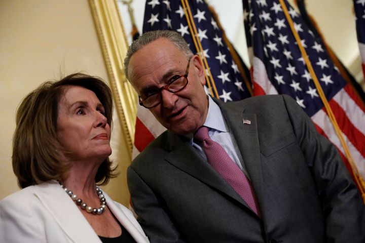 Senate Minority Leader Chuck Schumer (D-N.Y.) and House Minority Leader Nancy Pelosi (D-Calif.) said Wednesday they had