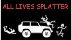 Sheriff's Office Apologises For 'All Lives Splatter' Meme Posted On