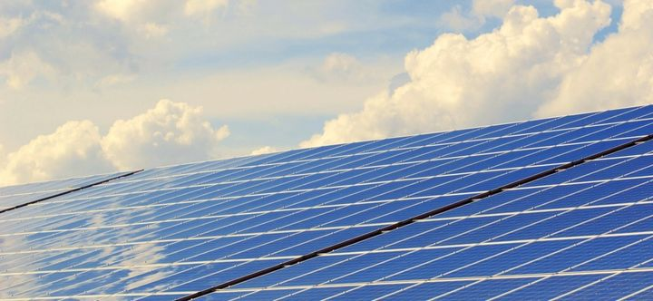 <p>Solar panels</p>