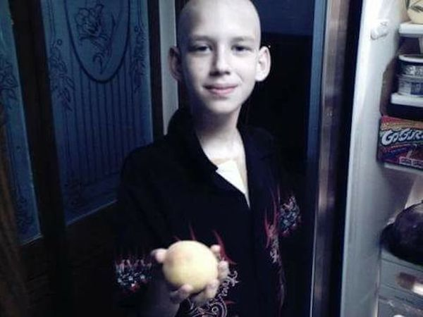 """""""Our sweet Joseph was diagnosed with acute myeloid leukemia at age 11. Eighteen months of emotional rollercoaster ensued as w"""