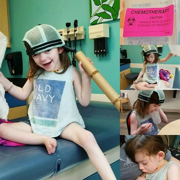 """""""My daughter Charley was diagnosed with brain cancer, pilocytic astrocytoma, at the age of 4 months old. She also has a secon"""
