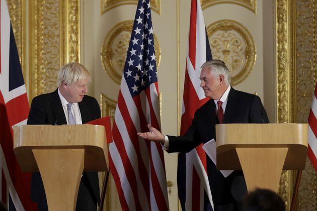 Rex Tillerson Throws Boris Johnson Diplomatic Lifeline After Days Of Continuous